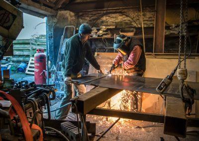 Adam Booth, artisan blacksmith